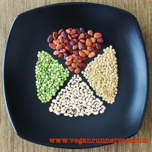 Health benefits of beans and lentils in plant-based diet