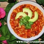 Three Bean Barley Chili