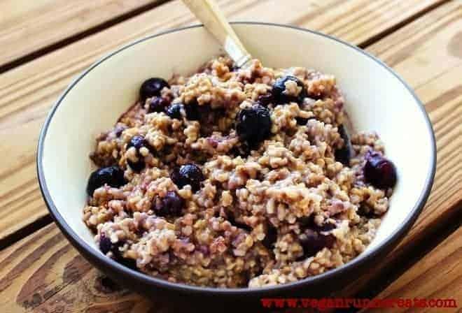 Vegan steel cut oatmeal recipe