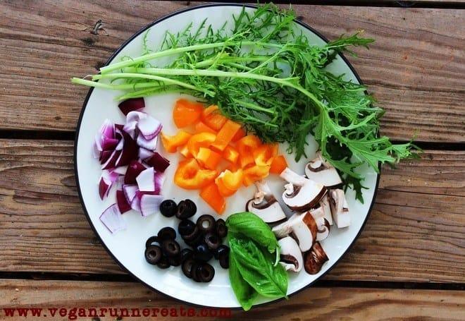 vegetablesforpizza