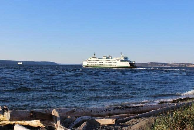 Ferry at Mukilteo Park