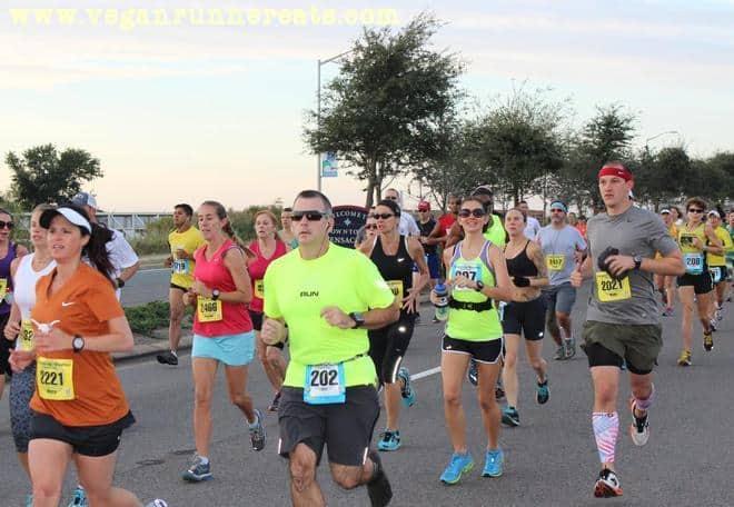 Racers of the Pensacola Marathon in 2013