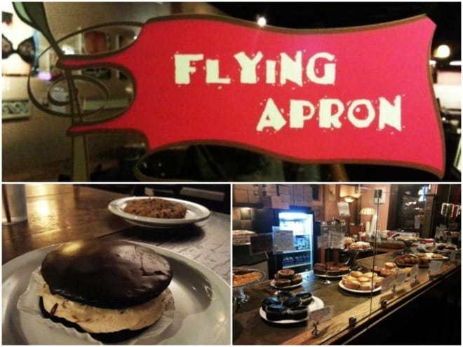 Collage Flying Apron