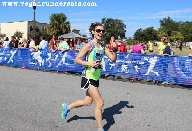 Pensacola marathon finish line