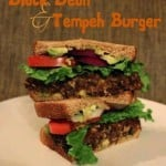 Black Bean & Tempeh Burger – the Meatiest Homemade Vegan Burger You'll Try!