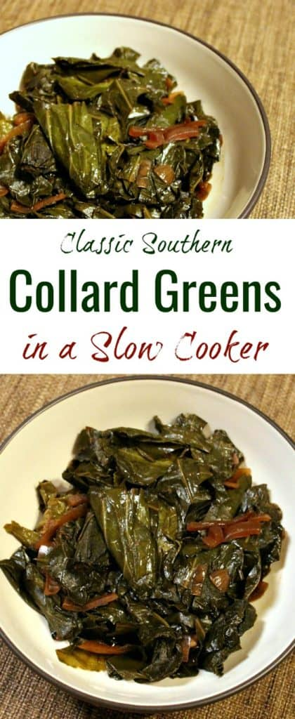 Classic Southern collard greens recipe | vegan collard greens