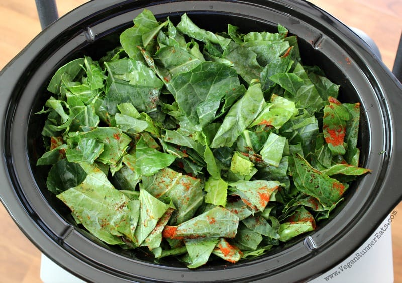 How to make Classic Southern collard greens recipe in a slow cooker