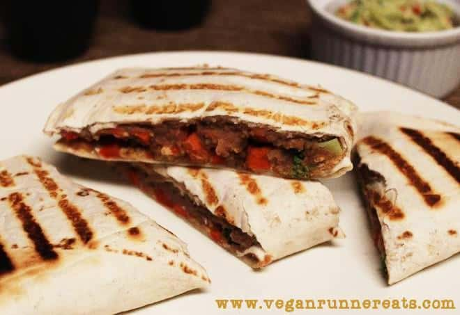Quesadillas cut