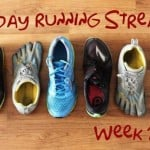 Holiday Running Streak: Week 2 Recap, Days 5-11