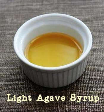 Natural liquid sweeteners: light agave syrup