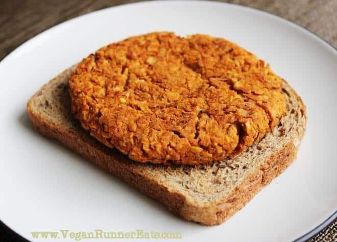 Vegetarian-friendly chickpea sweet potato burger recipe
