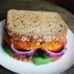 Chickpea Sweet Potato Burger Recipe