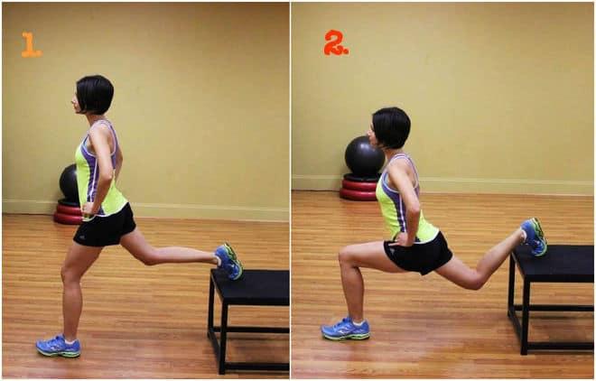 Split squats