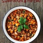 Sweet Potato and TVP Chili Recipe
