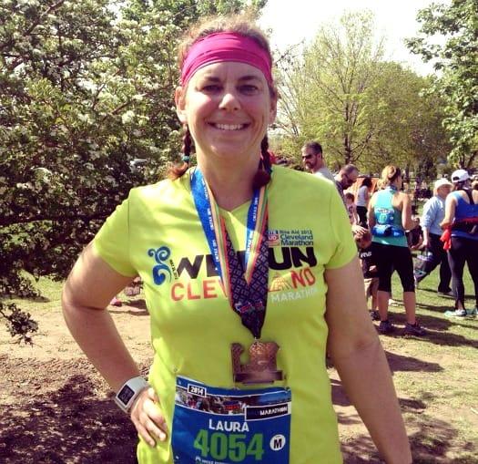 Laura half marathon