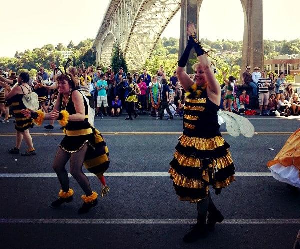 Bees parade