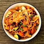 Easy Vegan Pasta Primavera Recipe