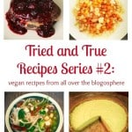 Tried and True Vegan Recipes Series, Episode #2: Five Recipes From All Over The Blogosphere, Tested And Reviewed!