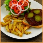 New Recipe: Barbecue Portobello Sandwich with Roasted Rosemary Fries