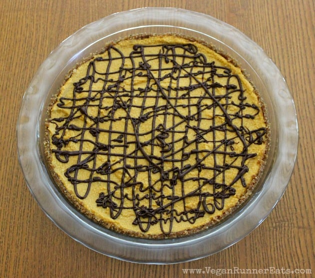 No Bake Pumpkin Pie by iFoodReal