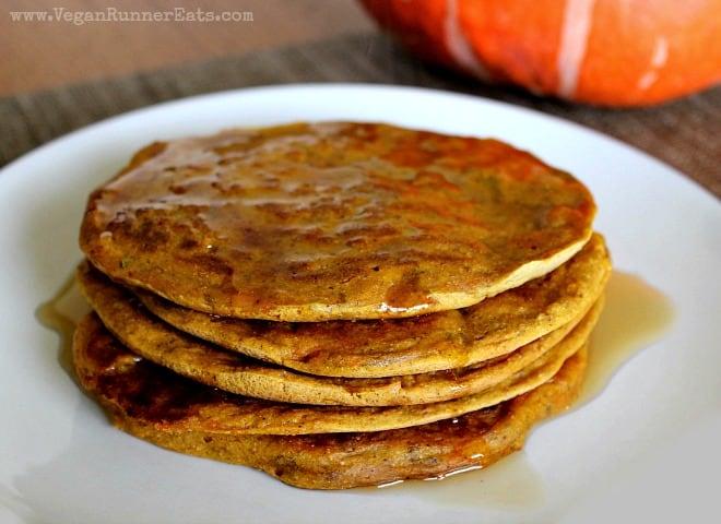 Vegan Pumpkin Pancakes Recipe