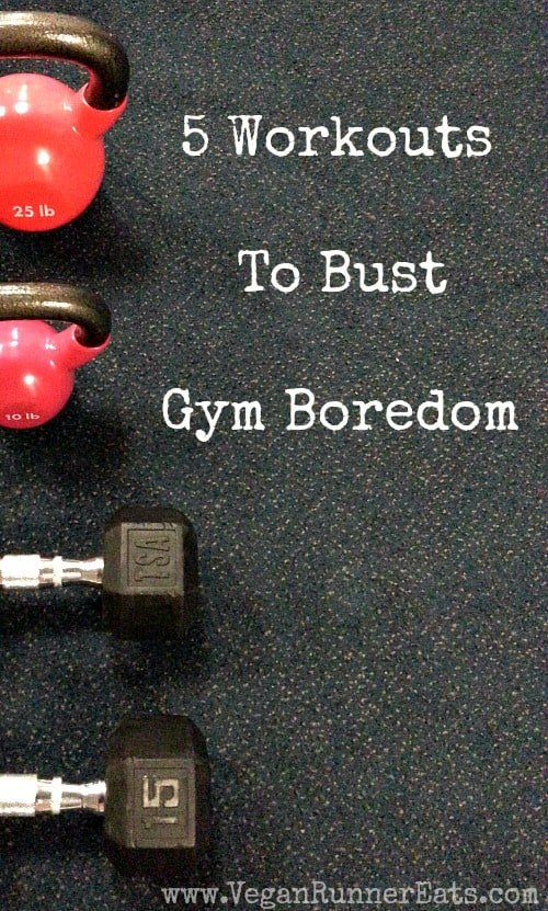 5 Workouts to Bust Gym Boredom