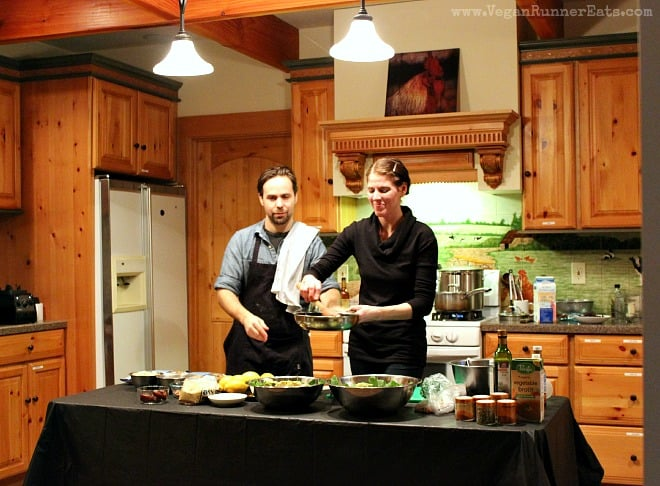 Fire and Earth Kitchen cooking class