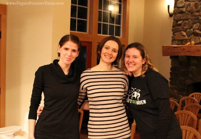 Renee, Alina and Jackie at Pasado's Safe Haven