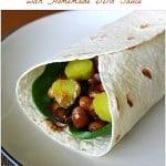 Vegan Barbecue Portobello Wrap Recipe with Homemade BBQ Sauce