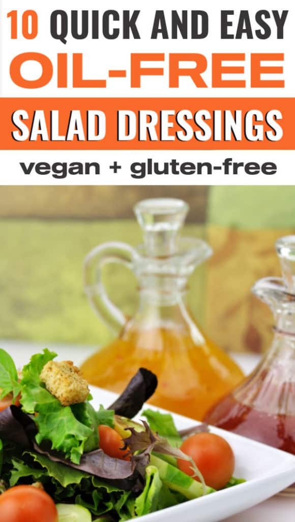 10 healthy vegan oil-free salad dressings