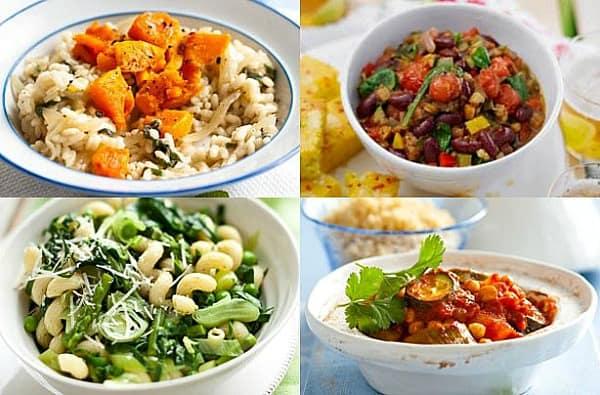 Vegan Menu Bingo - a fun way to plan your meals for the week!