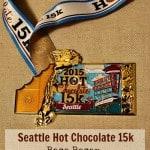 Seattle Hot Chocolate 15k Race Recap: Hills, Amazing Views, and Chocolate Fondue