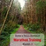 Rock'n'Roll Seattle Marathon Training, Month 3 Update: New Surroundings, Running in the Wild, and an Unexpected Injury