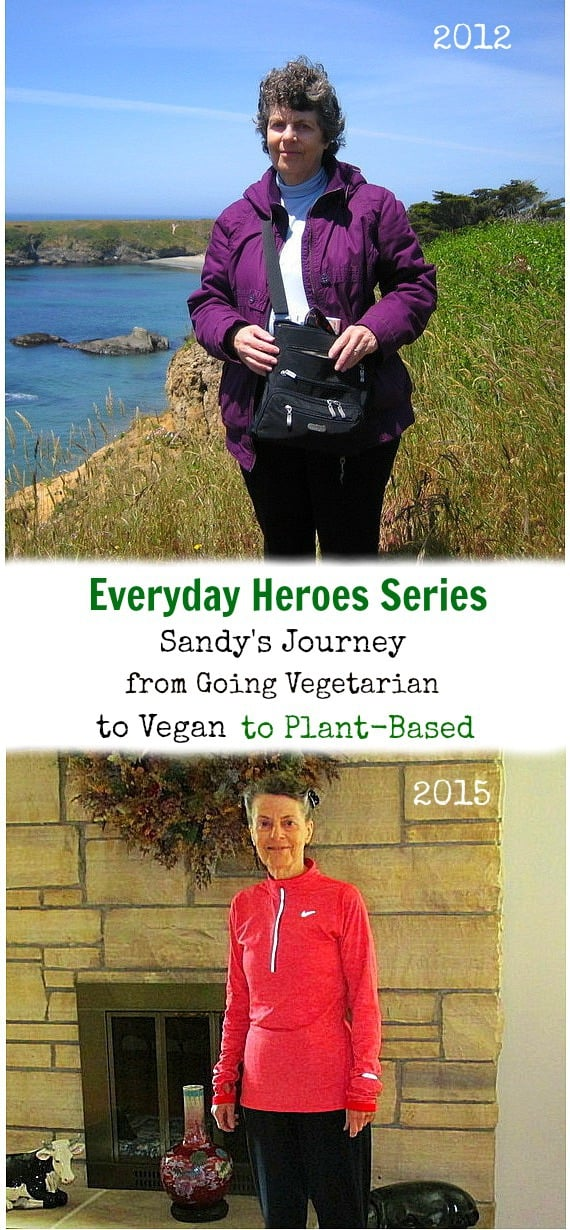 Everyday Heroes series - the journey of Sandy from going vegetarian to vegan and then plant-based