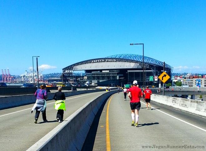 Safeco Field at Rock'n'Roll Seattle Marathon