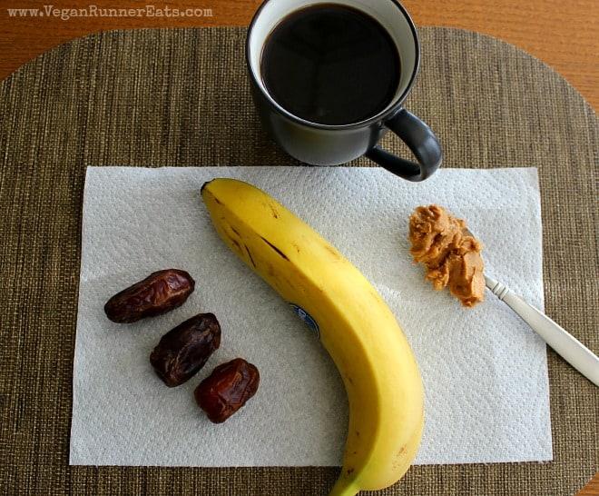 What a vegan marathoner eats for breakfast before a long run