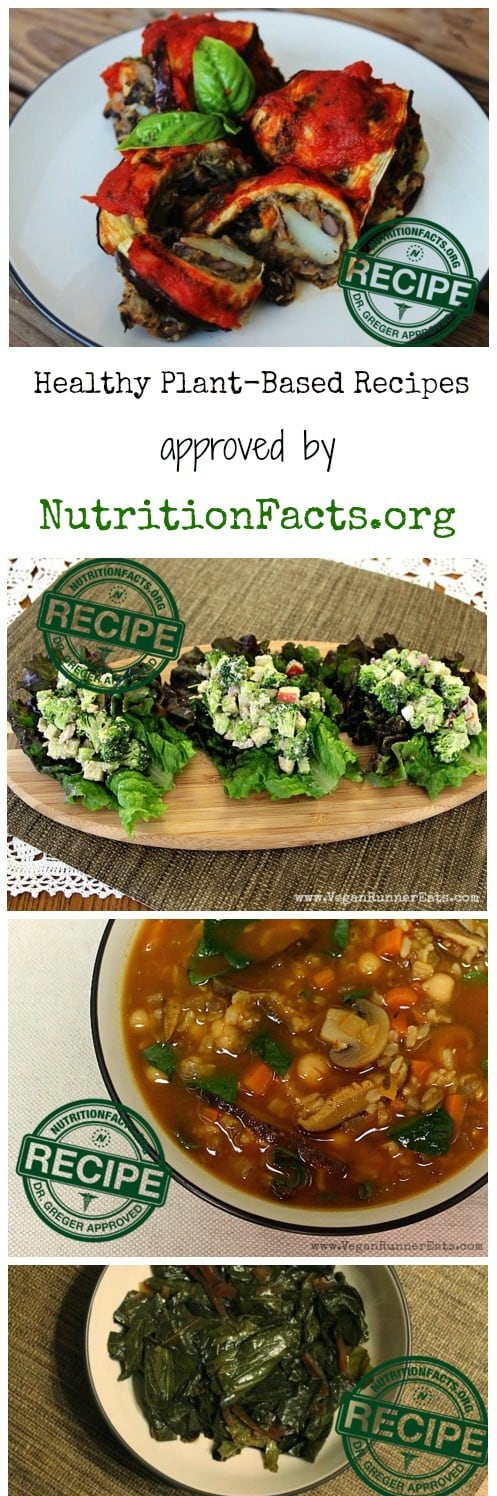 Veganrunnereats recipes are selected for nutritionfacts healthy plant based recipes approved by nutritionfacts forumfinder Images