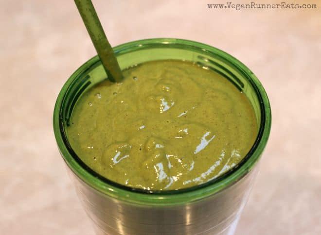 High protein green smoothie