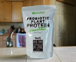 PureFood Probiotic Plant Protein review and giveaway