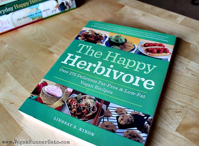 The Happy Herbivore Cookbook - one of my top 5 favorite vegan cookbooks