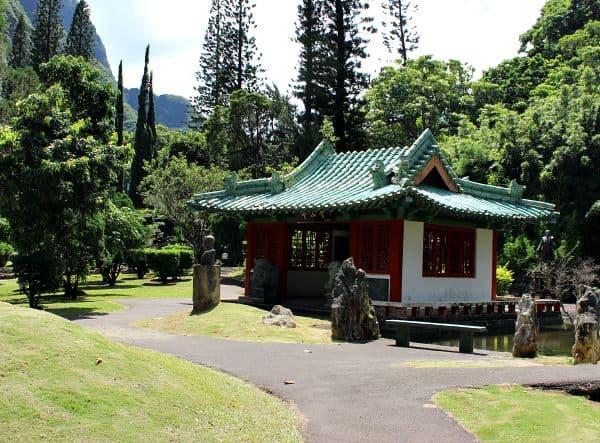 Kepaniwai Heritage Gardens on Maui Hawaii