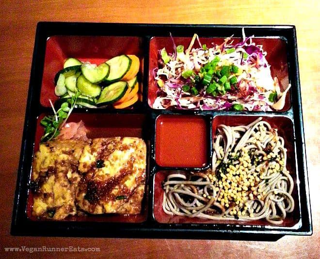 Vegan meal at Roy's Restaurant in Kaanapali, Maui, Hawaii