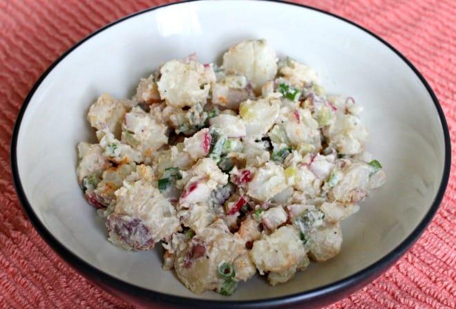 Vegan Springtime Potato Salad Recipe
