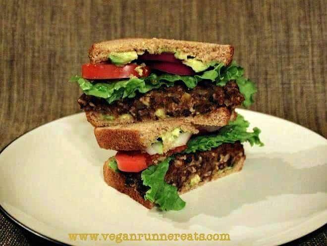 Homemade Black Bean & Tempeh Burger Recipe