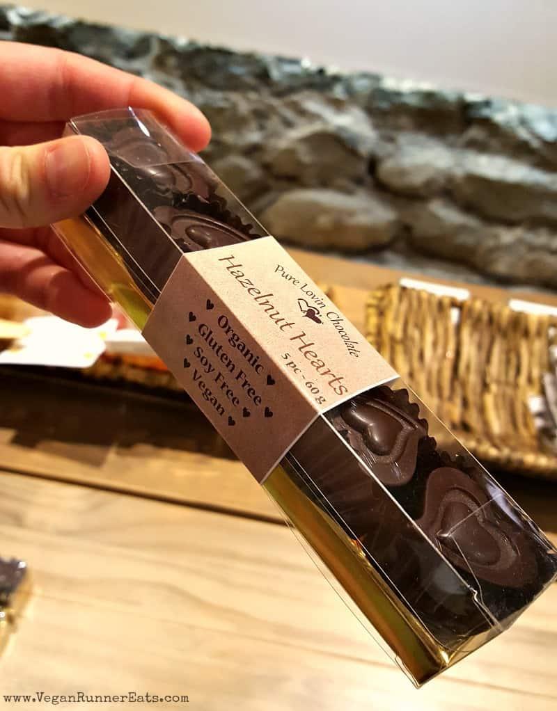 Pure Lovin Chocolate vegan chocolate shop in Victoria BC | Vegan dessert places in Victoria BC
