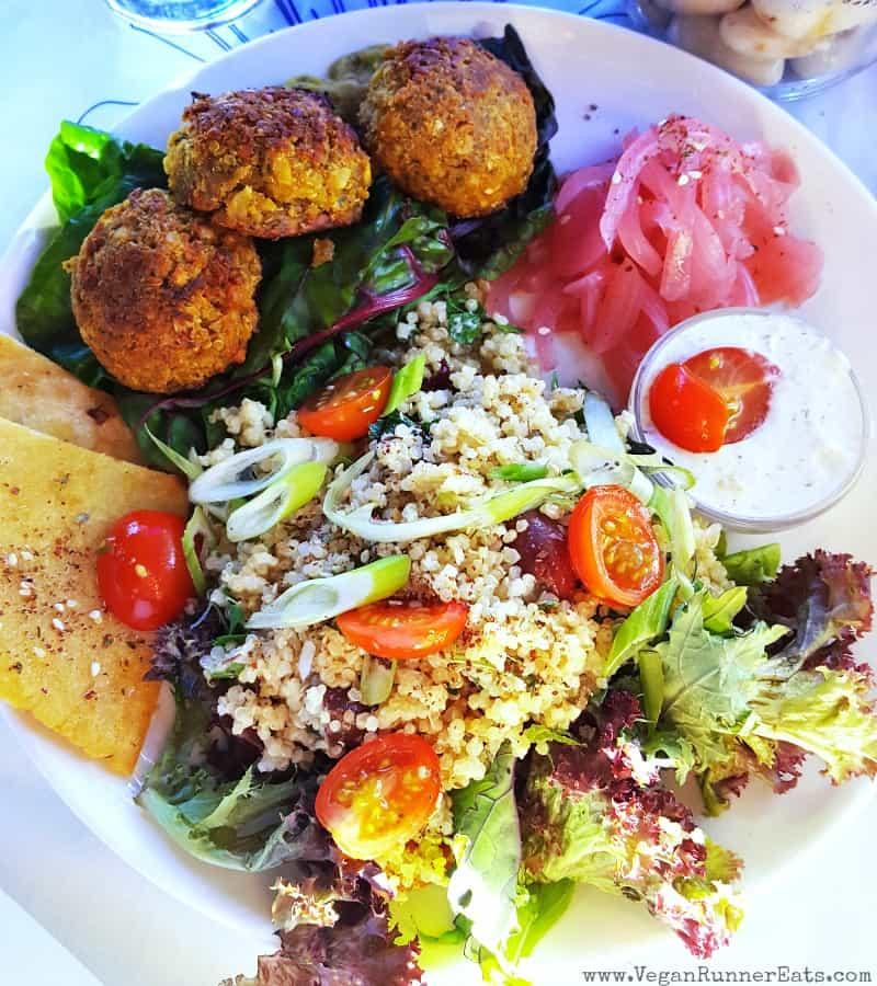 Vegan options at Be Love Bistro in Victoria BC | Vegan restaurants in Victoria BC