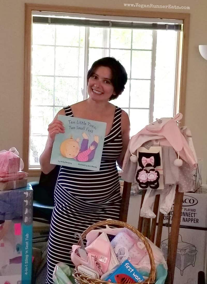 How to throw a successful vegan baby shower + baby shower menu