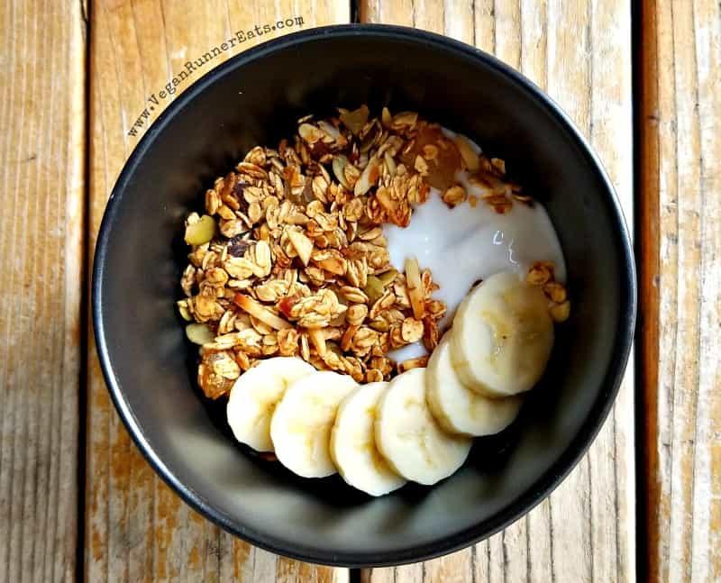 Naturally sweetened homemade vegan granola recipe