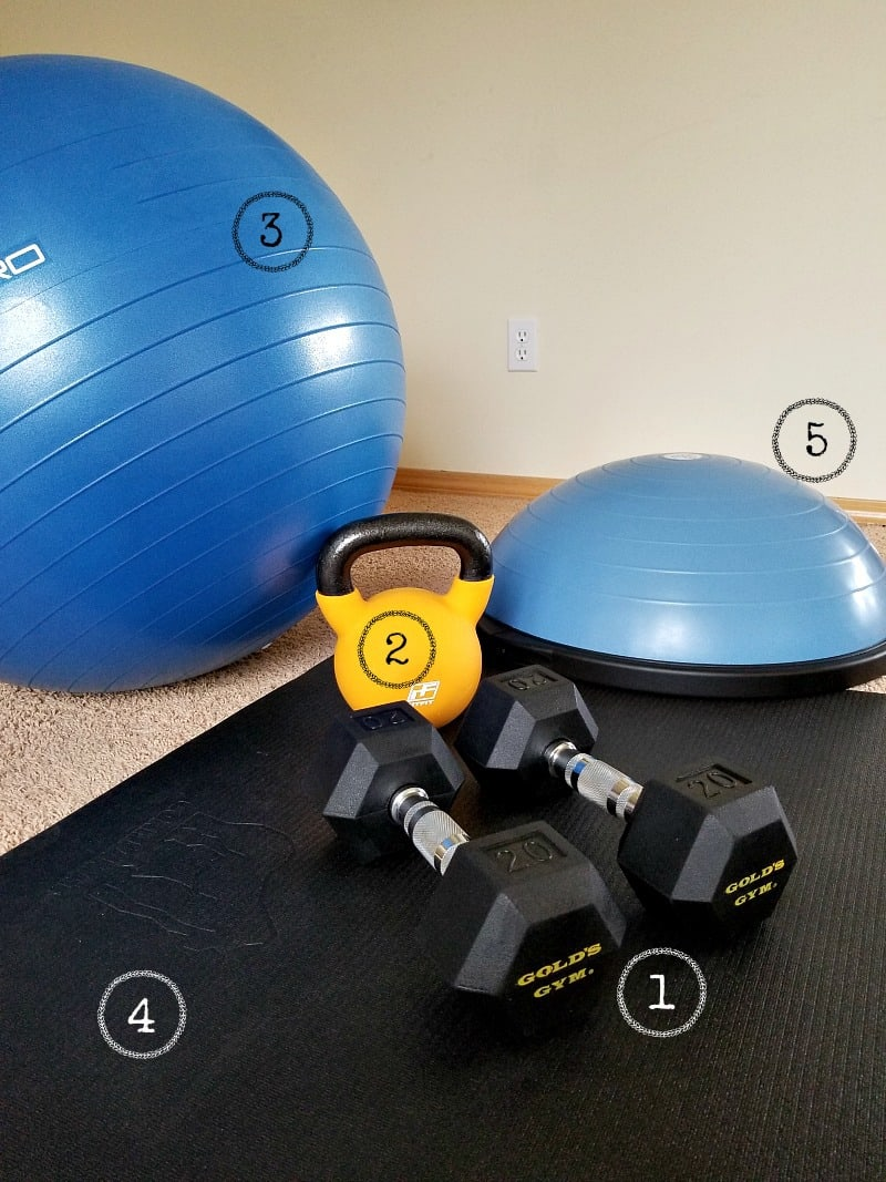 Postpartum fitness tips: how to stock a simple home gym with minimal equipment