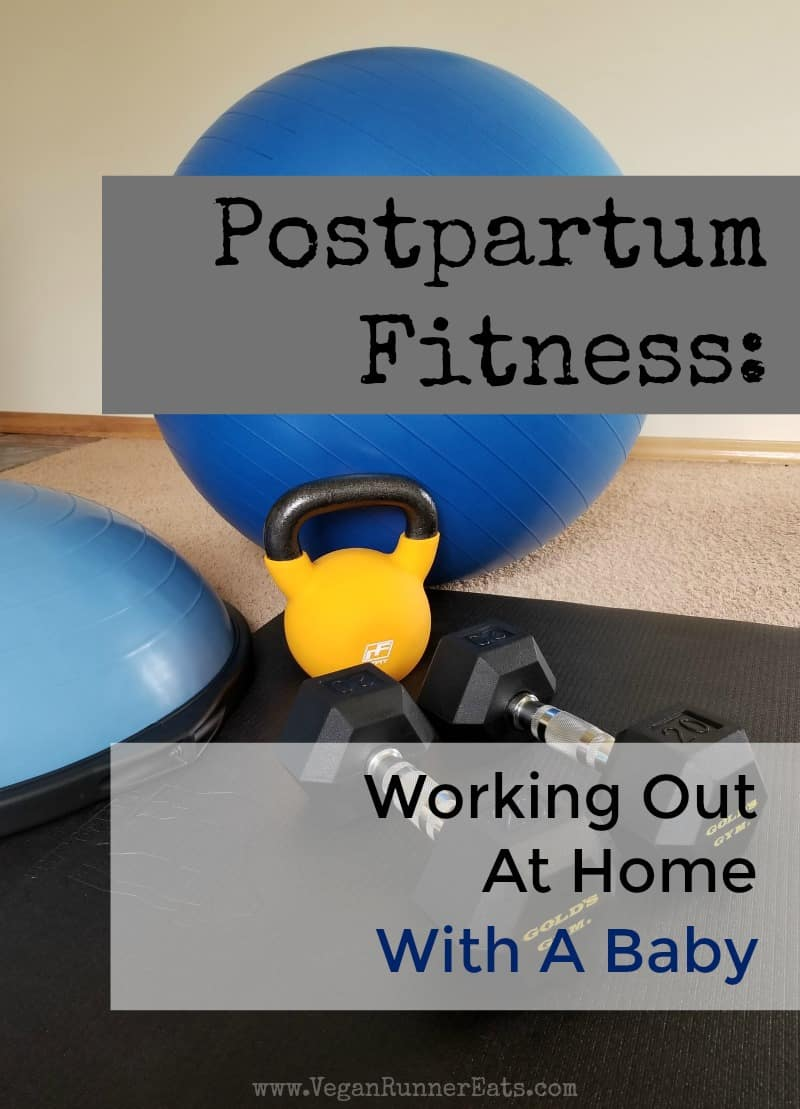 Postpartum fitness: tips on working out at home with a baby | new mom fitness tips | new mom workouts | home workouts for new moms